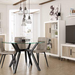 composicion de muebles salon