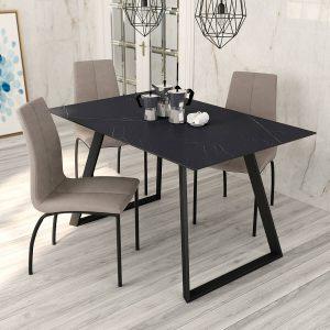 mesa rectangular piedra