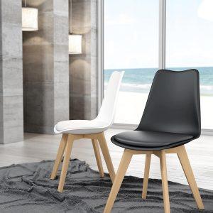 sillas estilo berlin de polipiel