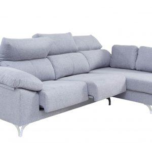 sofá de pata alta