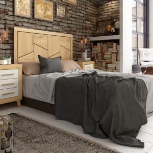 composición dormitorio de matrimonio